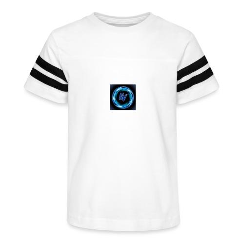 MY YOUTUBE LOGO 3 - Kid's Vintage Sport T-Shirt