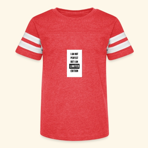 One of a kind - Kid's Vintage Sport T-Shirt