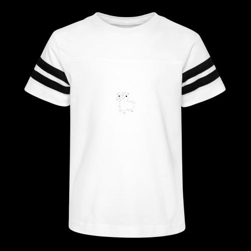LOOT LLAMA THREE HEADS HYDRA - Kid's Vintage Sport T-Shirt