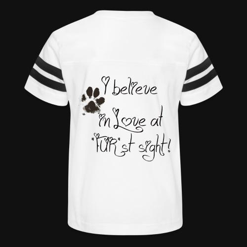 Love at Furst - Kid's Vintage Sport T-Shirt