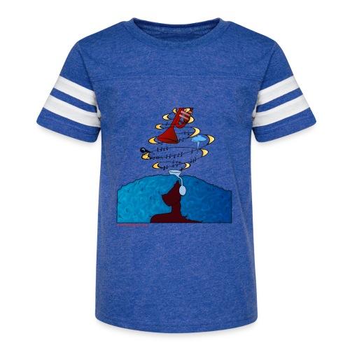 Girl and name shirt - Kid's Vintage Sport T-Shirt