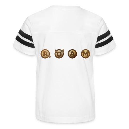 ROAM letters sepia - Kid's Vintage Sport T-Shirt