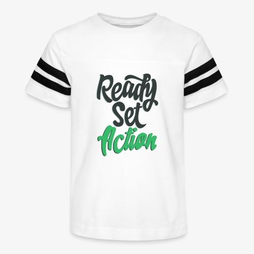 Ready.Set.Action! - Kid's Vintage Sport T-Shirt