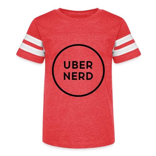 uber nerd logo - Kid's Vintage Sport T-Shirt