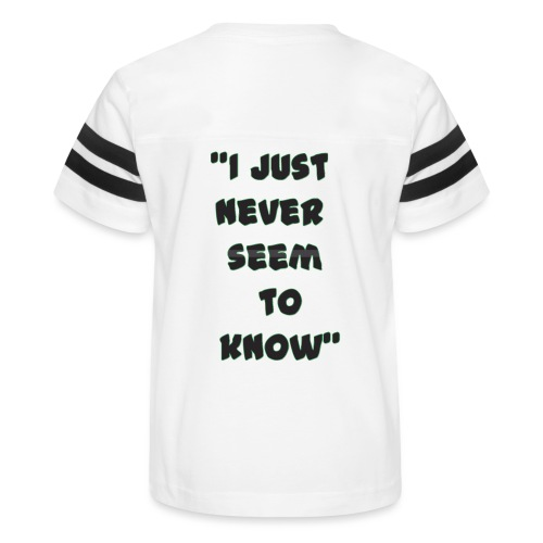 know png - Kid's Vintage Sport T-Shirt