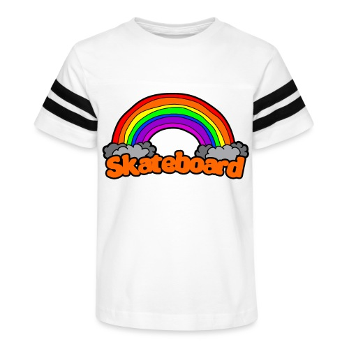 SK8 THE RAINBOW - Kid's Vintage Sport T-Shirt