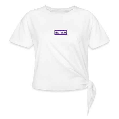 Westurnt - Women's Knotted T-Shirt