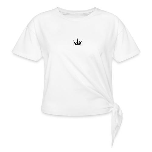 DUKE's CROWN - Women's Knotted T-Shirt
