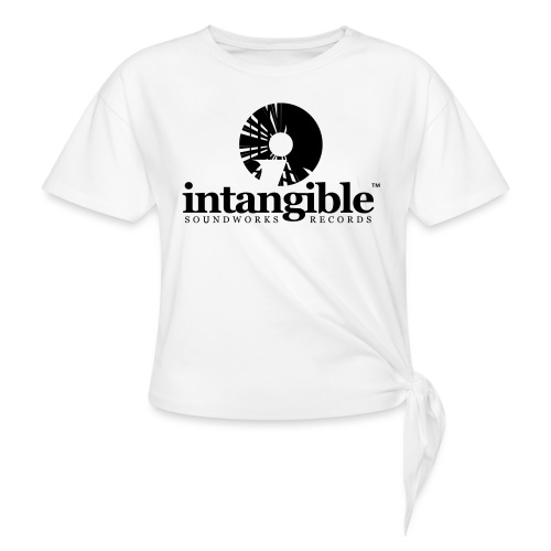 Intangible Soundworks - Women's Knotted T-Shirt