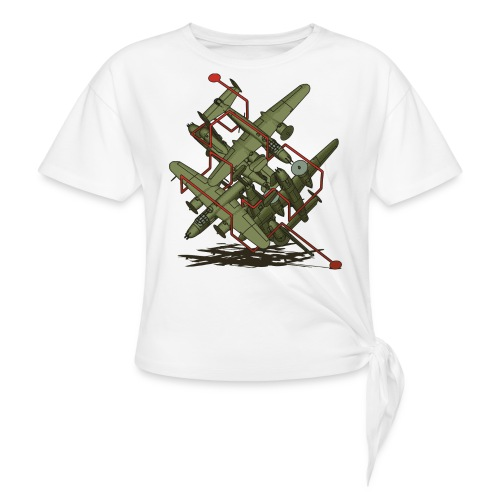 Oh Yossarian... - Women's Knotted T-Shirt