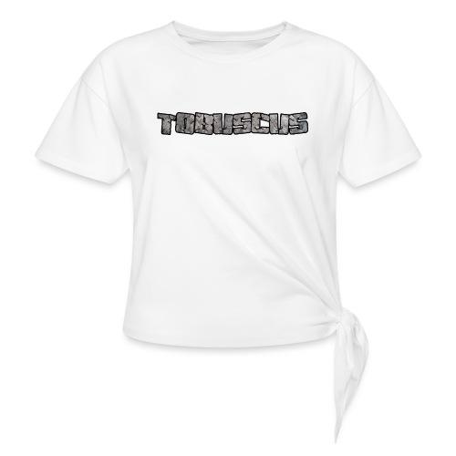 Tobuscus Logo Women's T-Shirts - Women's Knotted T-Shirt