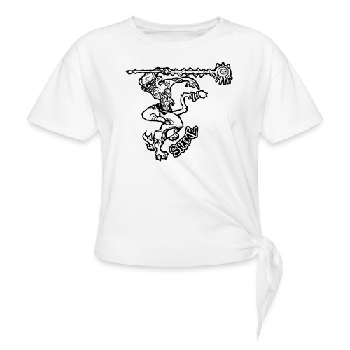 SHAME - Women's Knotted T-Shirt