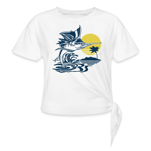 Sailfish - Women's Knotted T-Shirt