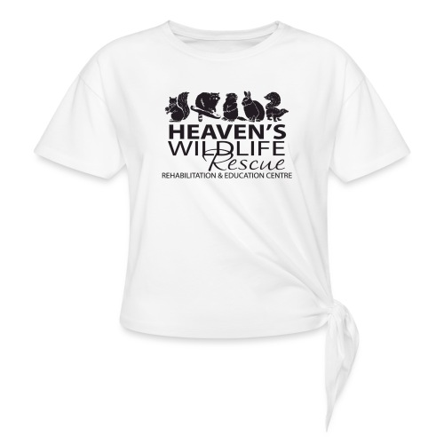 Heaven's Wildlife Rescue - Women's Knotted T-Shirt