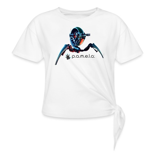 P.A.M.E.L.A. Turret - Women's Knotted T-Shirt