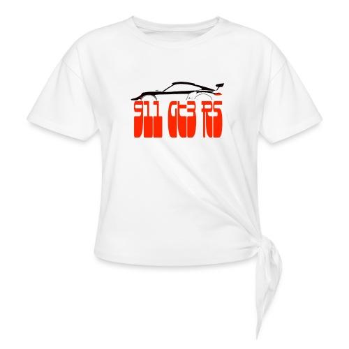 EURO POR - Women's Knotted T-Shirt