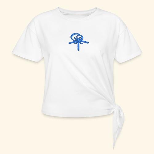 Back LOGO LOB - Women's Knotted T-Shirt