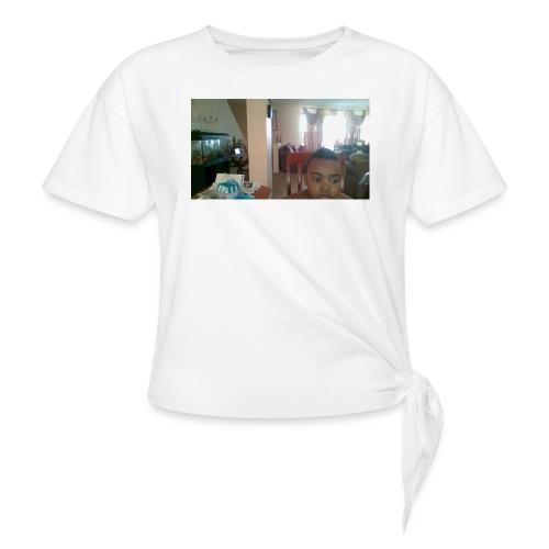 WIN 20160225 08 10 32 Pro - Women's Knotted T-Shirt