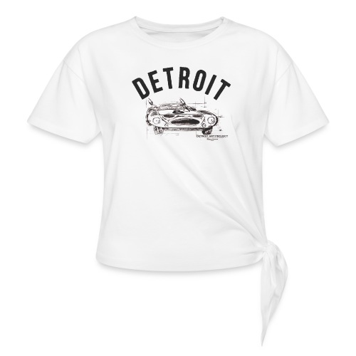 Detroit Art Project - Women's Knotted T-Shirt