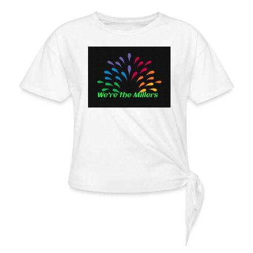 We're the Millers logo 1 - Women's Knotted T-Shirt