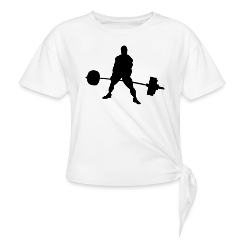 Powerlifting - Women's Knotted T-Shirt