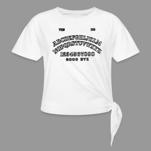 Talking Board - Women's Knotted T-Shirt