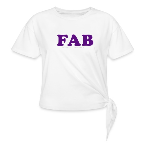 FAB Tank - Women's Knotted T-Shirt