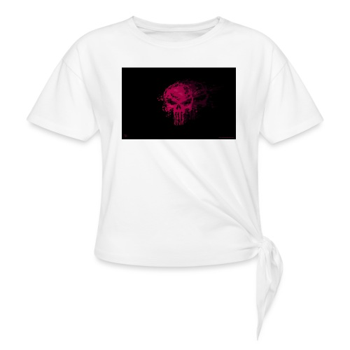hkar.punisher - Women's Knotted T-Shirt