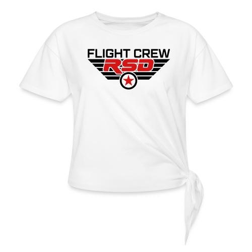 RSD Flight Crew - Women's Knotted T-Shirt