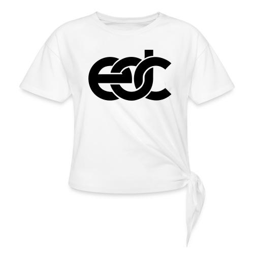 EDC Electric Daisy Carnival Fan Festival Design - Women's Knotted T-Shirt