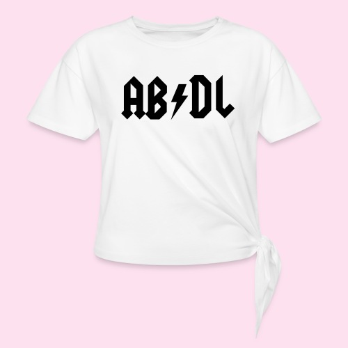 ABDL Rock - Women's Knotted T-Shirt