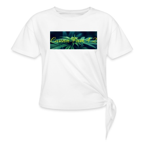 20190705 141303 0000 - Women's Knotted T-Shirt