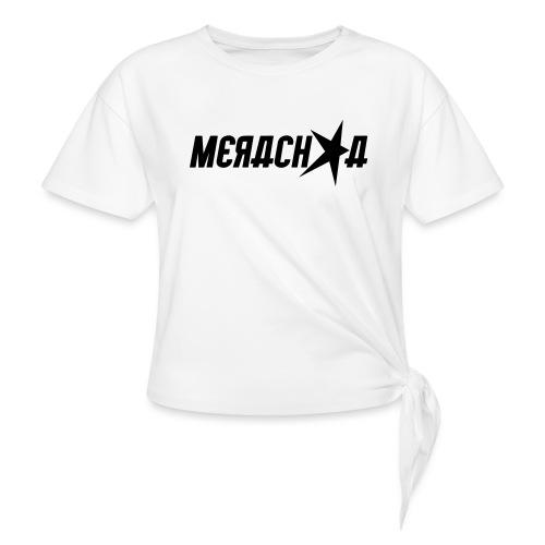 Merachka Logo - Women's Knotted T-Shirt