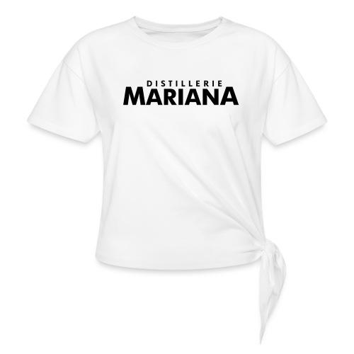 Distillerie Mariana_Casquette - Women's Knotted T-Shirt