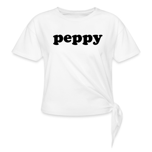 PEPPY - Women's Knotted T-Shirt