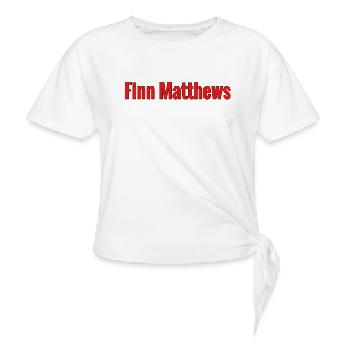 FM Logo - Women's Knotted T-Shirt