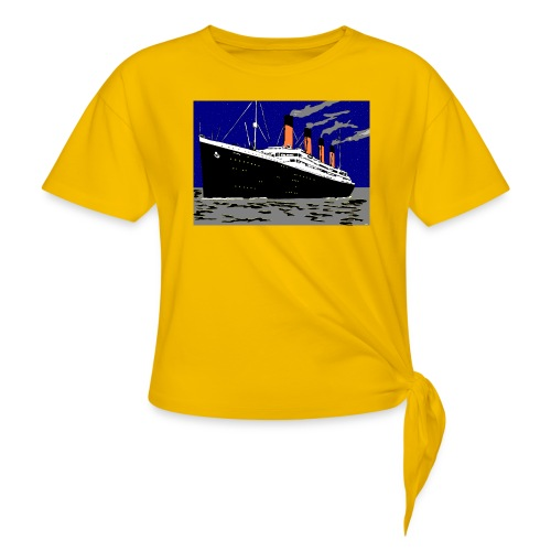 TITANIC - Women's Knotted T-Shirt
