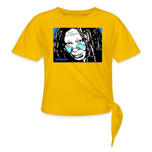 WHOOPI - Women's Knotted T-Shirt
