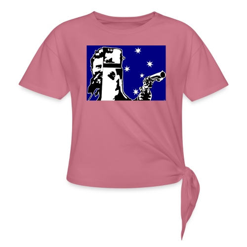 NED KELLY - Women's Knotted T-Shirt