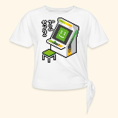 Pixelcandy_AW - Women's Knotted T-Shirt
