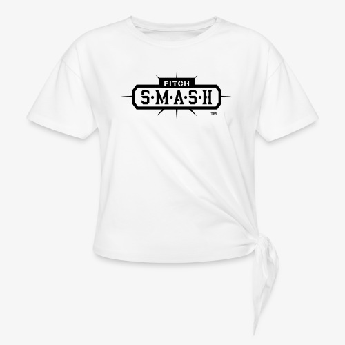 Fitch SMASH LLC. Official Trade Mark 2 - Women's Knotted T-Shirt