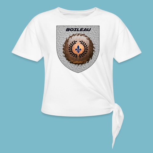 BOILEAU 1 - Women's Knotted T-Shirt
