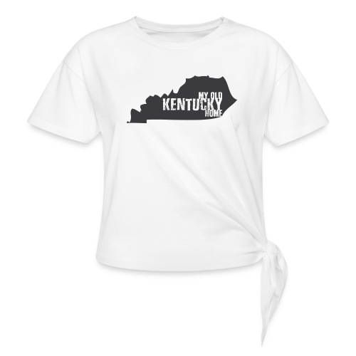 My Old Kentucky Home - Women's Knotted T-Shirt