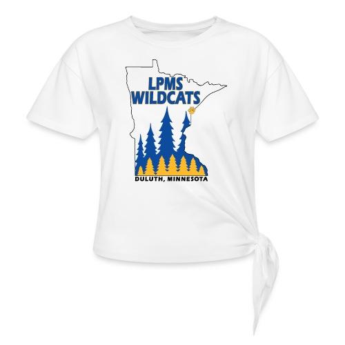 Minnesota Wildcats - Women's Knotted T-Shirt