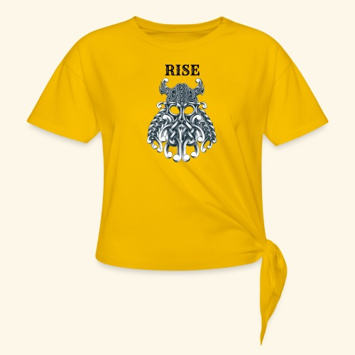 RISE CELTIC WARRIOR - Women's Knotted T-Shirt