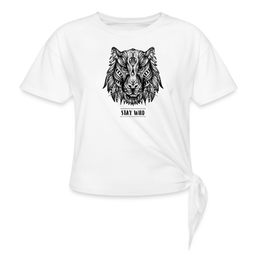 Stay Wild - Women's Knotted T-Shirt