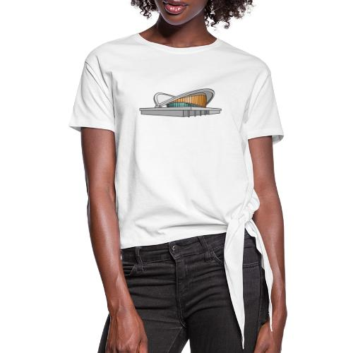 Congress Hall BERLIN - Women's Knotted T-Shirt