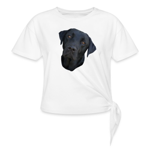 bently - Women's Knotted T-Shirt