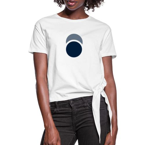Eclipse - Women's Knotted T-Shirt