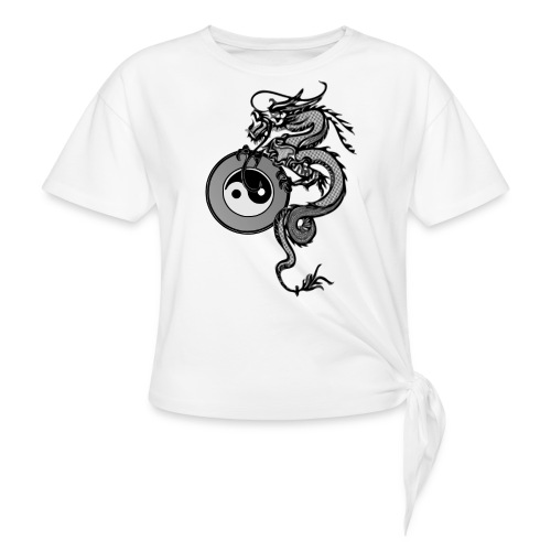 dragon - Women's Knotted T-Shirt